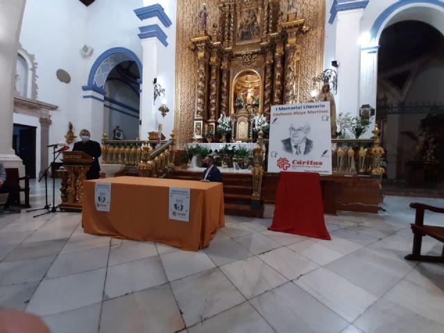 El periodista Gregorio J. Asensio y el profesor José Antonio Riquelme ganan el I Certamen Literario Memorial Ildefonso Moya de Totana, que ha organizado Cáritas de Santiago - 14