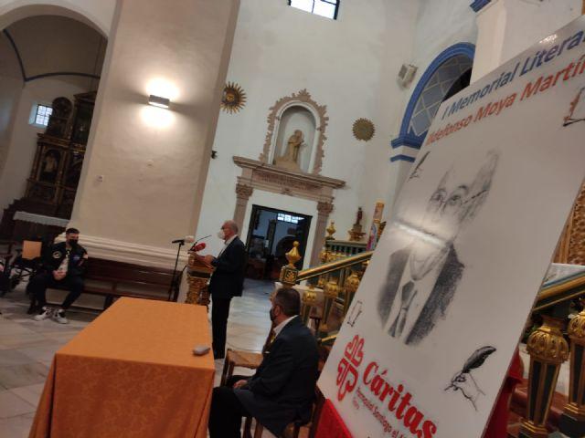 El periodista Gregorio J. Asensio y el profesor José Antonio Riquelme ganan el I Certamen Literario Memorial Ildefonso Moya de Totana, que ha organizado Cáritas de Santiago - 16