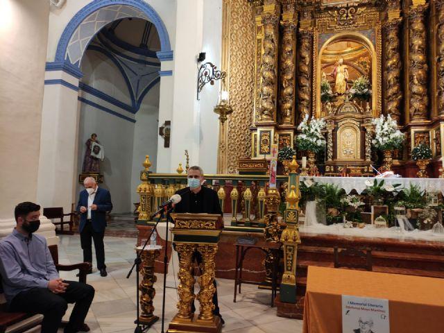 El periodista Gregorio J. Asensio y el profesor José Antonio Riquelme ganan el I Certamen Literario Memorial Ildefonso Moya de Totana, que ha organizado Cáritas de Santiago - 17