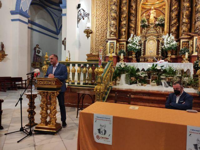 El periodista Gregorio J. Asensio y el profesor José Antonio Riquelme ganan el I Certamen Literario Memorial Ildefonso Moya de Totana, que ha organizado Cáritas de Santiago - 21