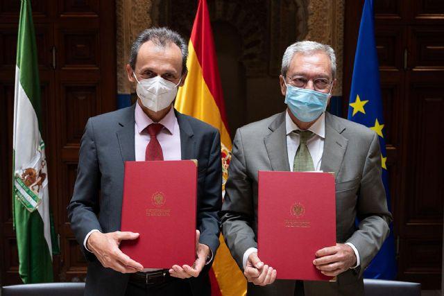 El Gobierno y la Junta de Andalucía firman el convenio del consorcio para impulsar la candidatura española al IFMIF-DONES en Granada - 1, Foto 1