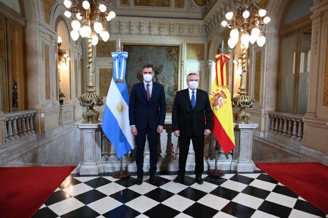 Sánchez muestra su respaldo y solidaridad a Argentina para superar los retos sanitarios y económicos derivados de la pandemia - 1, Foto 1