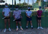 Campeonas en el circuito tenis base regional
