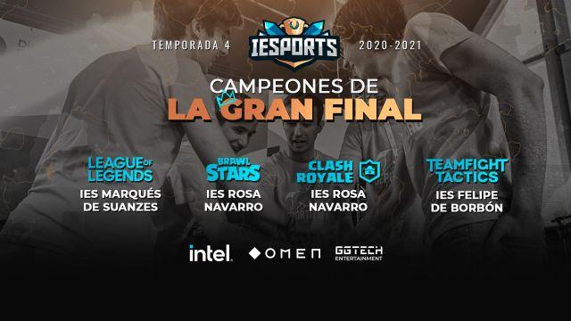 Finaliza la 4ª temporada de la Liga IESports con 600 Centros Educativos inscritos de toda España - 1, Foto 1