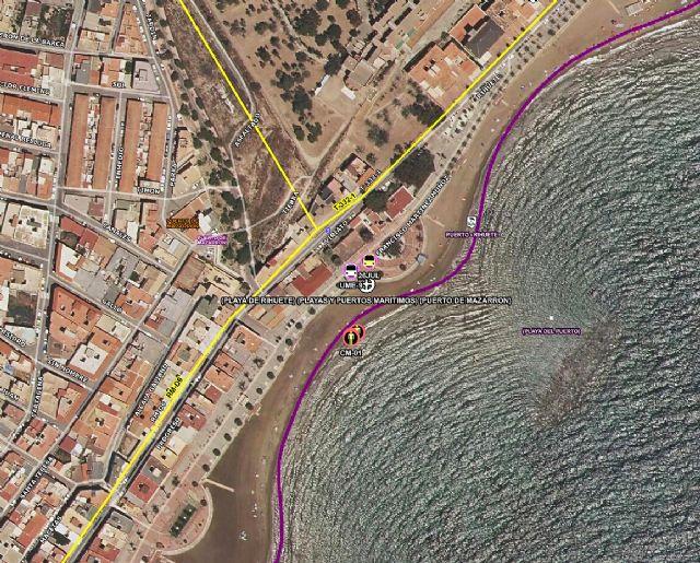 Fallece un hombre en la playa de Rihuete, en Puerto de Mazarrón, Foto 1