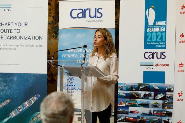 Raquel Sánchez muestra su compromiso con la mejora de la seguridad en el transporte marítimo, la protección de la vida humana en el mar y la sostenibilidad - 1, Foto 1