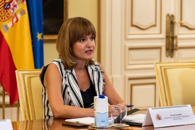 Pilar Alegría fortalece la Formación Profesional como vía de acceso al empleo de calidad - 1, Foto 1