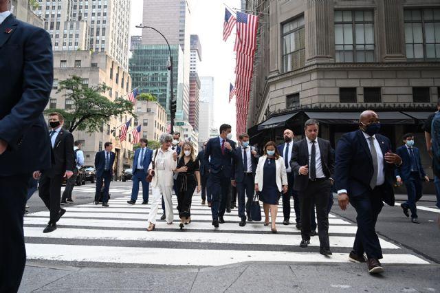 Sánchez presenta en EE.UU. el Plan de Recuperación, Transformación y Resiliencia, y las oportunidades de inversión que le acompañan - 1, Foto 1