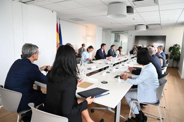 Sánchez se reúne con las principales gestoras de inversiones y fondos de capital riesgo de Nueva York - 1, Foto 1
