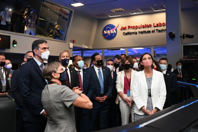 Sánchez subraya el interés de España en profundizar en la colaboración con la NASA - 1, Foto 1