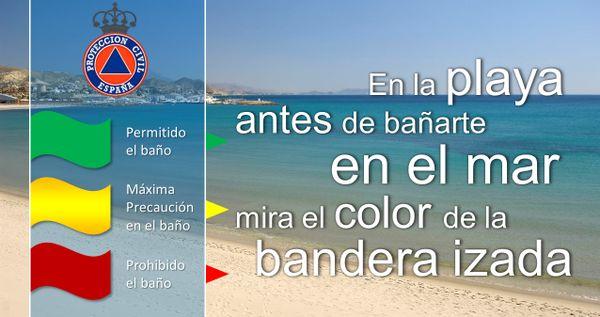 Los puestos de vigilancia de playas del Plan Copla han abierto hoy jueves, 29, con 1 bandera roja y 13 amarillas - 1, Foto 1