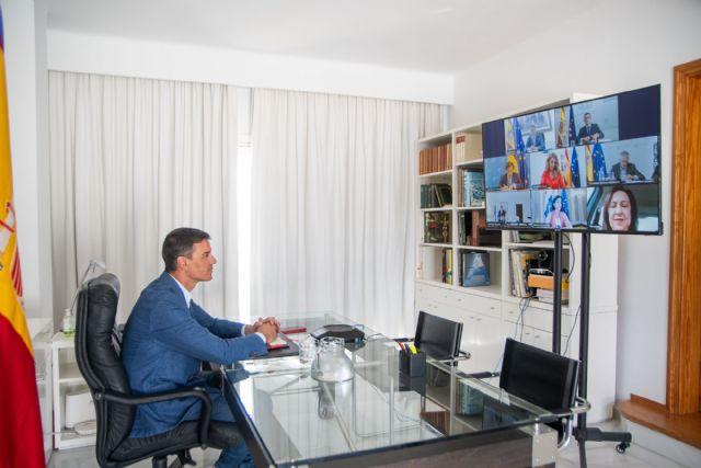 Sánchez preside la primera reunión del Grupo de Trabajo que supervisa la repatriación del contingente español en Afganistán - 1, Foto 1