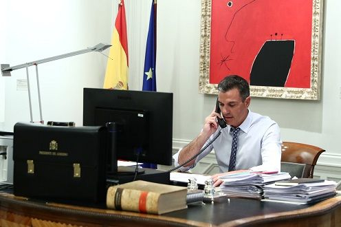 Pedro Sánchez y Joe Biden acuerdan cooperar para la evacuación de Afganistán de ciudadanos vulnerables - 1, Foto 1