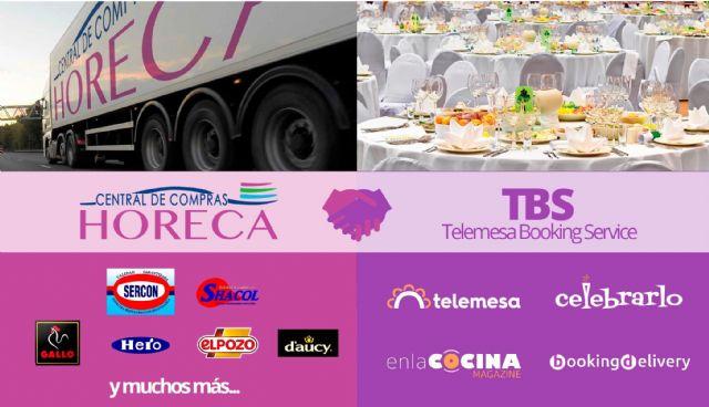 Telemesa Booking Service firma un acuerdo de colaboración con la Central de Compras Horeca - 1, Foto 1