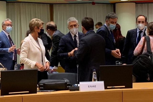 Grande-Marlaska defiende en Bruselas una actuación coordinada y común de la UE para responder a la crisis afgana - 1, Foto 1