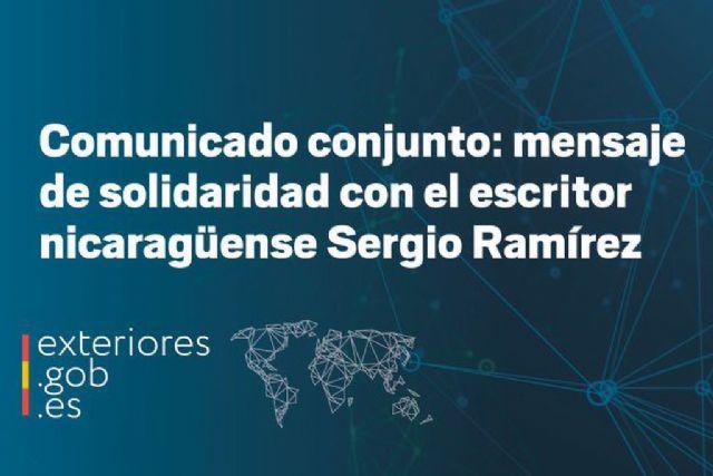 El Gobierno de España rechaza las infundadas acusaciones realizadas por la Fiscalía nicaragüense contra el escritor Sergio Ramírez - 1, Foto 1