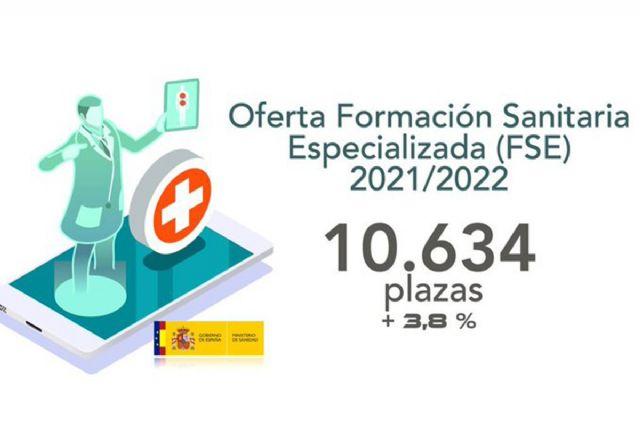El Ministerio de Sanidad publica la mayor oferta de plazas de Formación Sanitaria Especializada - 1, Foto 1