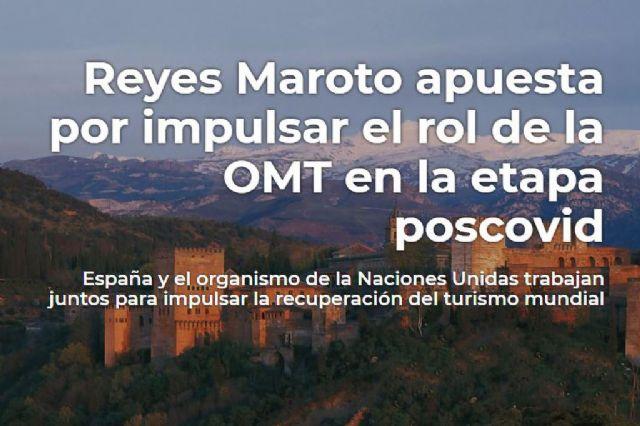 Reyes Maroto apuesta por impulsar el rol de la Organización Mundial del Turismo en la etapa poscovid - 1, Foto 1