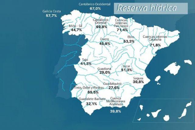 La reserva hídrica española se encuentra al 40,9 por ciento de su capacidad - 1, Foto 1