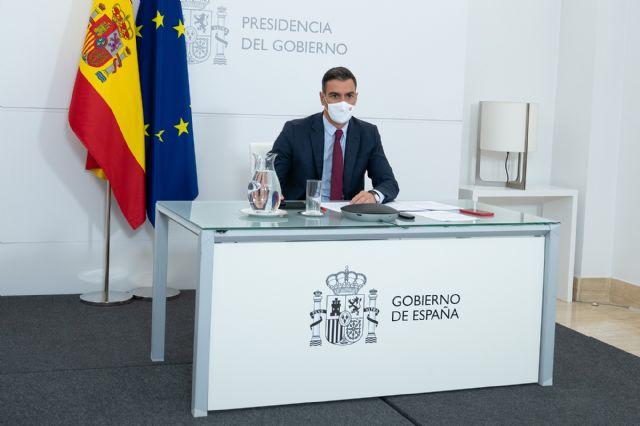 Sánchez subraya que el Plan de Recuperación permitirá a España liderar la economía del futuro sin dejar a nadie atrás y en colaboración con el sector privado - 1, Foto 1