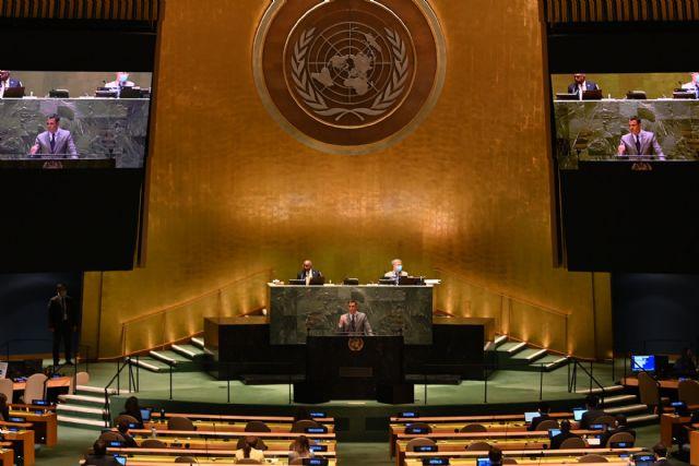 El presidente del Gobierno defiende un orden mundial basado en la democracia, el multilateralismo y el estado de bienestar - 1, Foto 1