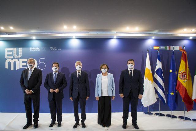 España, Italia, Grecia, Chipre y Malta acuerdan en Málaga reclamar a la UE un reparto equitativo de la responsabilidad en materia migratoria - 1, Foto 1