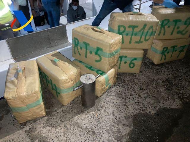La Agencia Tributaria aborta una tentativa de alijo de droga en Murcia e incauta más de 4.000 kilos de hachís - 1, Foto 1