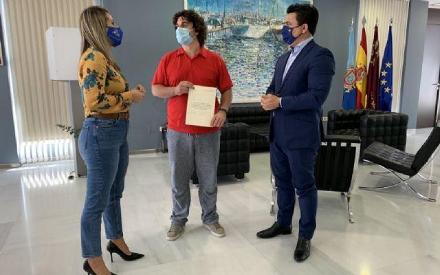 El Ayuntamiento de San Javier renueva su convenio con AFAL - 1, Foto 1