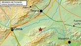 El 1-1-2 ha recibido 3 llamadas informando de un terremoto entre Totana, Lorca y Mazarrón