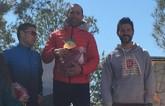 El atleta del Club Atletismo Totana, Diego García, gana la primera Vrutrail