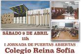 El colegio Reina Sofía organiza una jornada de puertas abiertas, el sábado 9 de abril