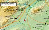 Totana registra un pequeño temblor de 2,4 grados sin que haya constancia de daños de ningún tipo