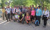 Unos 30 deportistas participan en la Ruta de Senderismo al paraje del Madroñal (Cieza)