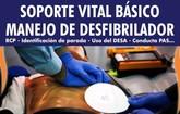 El primer fin de semana de mayo tendrá lugar el Curso de Soporte Vital Básico (SVB)