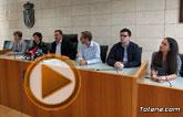 Rueda de prensa PSOE Totana sobre Plan de Ajuste