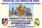 La Cofradía de Jesús Resucitado celebra la II fiesta de las Cruces de Mayo