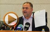 Rueda de prensa del alcalde de Totana sobre el PGOM, el Plan de Ajuste y actualidad política