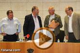 El Ayuntamiento de Totana realiza una recepción institucional a Francisco Casero Rodríguez