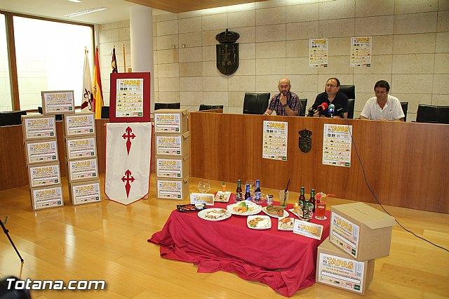 Se presenta la VIII Ruta de la Tapa, Cóctel y Postres por Totana - 1