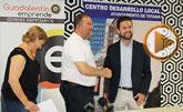 """El Ayuntamiento y la Asociación de Jóvenes Empresarios """"Guadalentín Emprende"""" suscriben un convenio"""