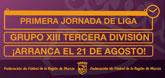 La Liga en Tercera Divisi�n (grupo XIII), donde competir� el Ol�mpico de Totana, arranca el 21 de agosto