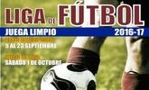 La Concejalía de Deportes abrirá el plazo de inscripción para Liga de Fútbol 'Juega Limpio' 2016/17, a partir del día 5 de septiembre
