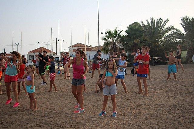 Move organizó una exhibición de Combat en las playas de Mazarrón - 3
