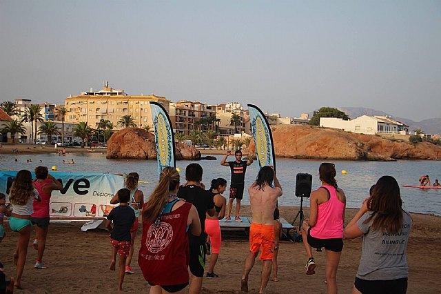 Move organizó una exhibición de Combat en las playas de Mazarrón - 9