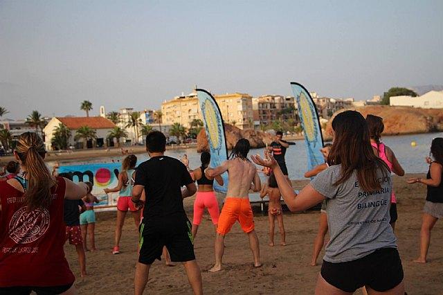 Move organizó una exhibición de Combat en las playas de Mazarrón - 13