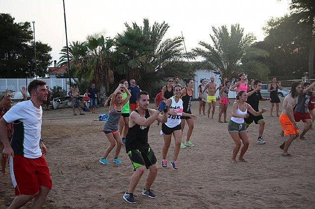 Move organizó una exhibición de Combat en las playas de Mazarrón - 17