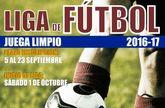 La Concejal�a de Deportes abre hoy el plazo de inscripci�n para Liga de F�tbol Juega Limpio 2016/2017