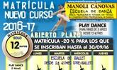 La Escuela de Danza Manoli Cánovas abre el plazo de matrícula para el curso 2016-2017