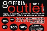 La 8ª Feria Outlet tendrá lugar del 14 al 16 de Octubre en la Plaza de la Constitución