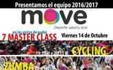 Últimas plazas para la presentación del equipo MOVE 2016-17, que tendrá lugar el próximo viernes